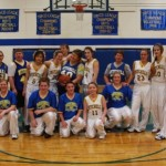 Mitchell Girls BB and Alumni